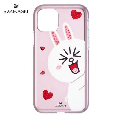 施華洛世奇 Line Friends Cony iPhone11 Pro 兔兔手機殼
