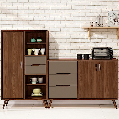 H&D 米蘭6.6尺餐櫃