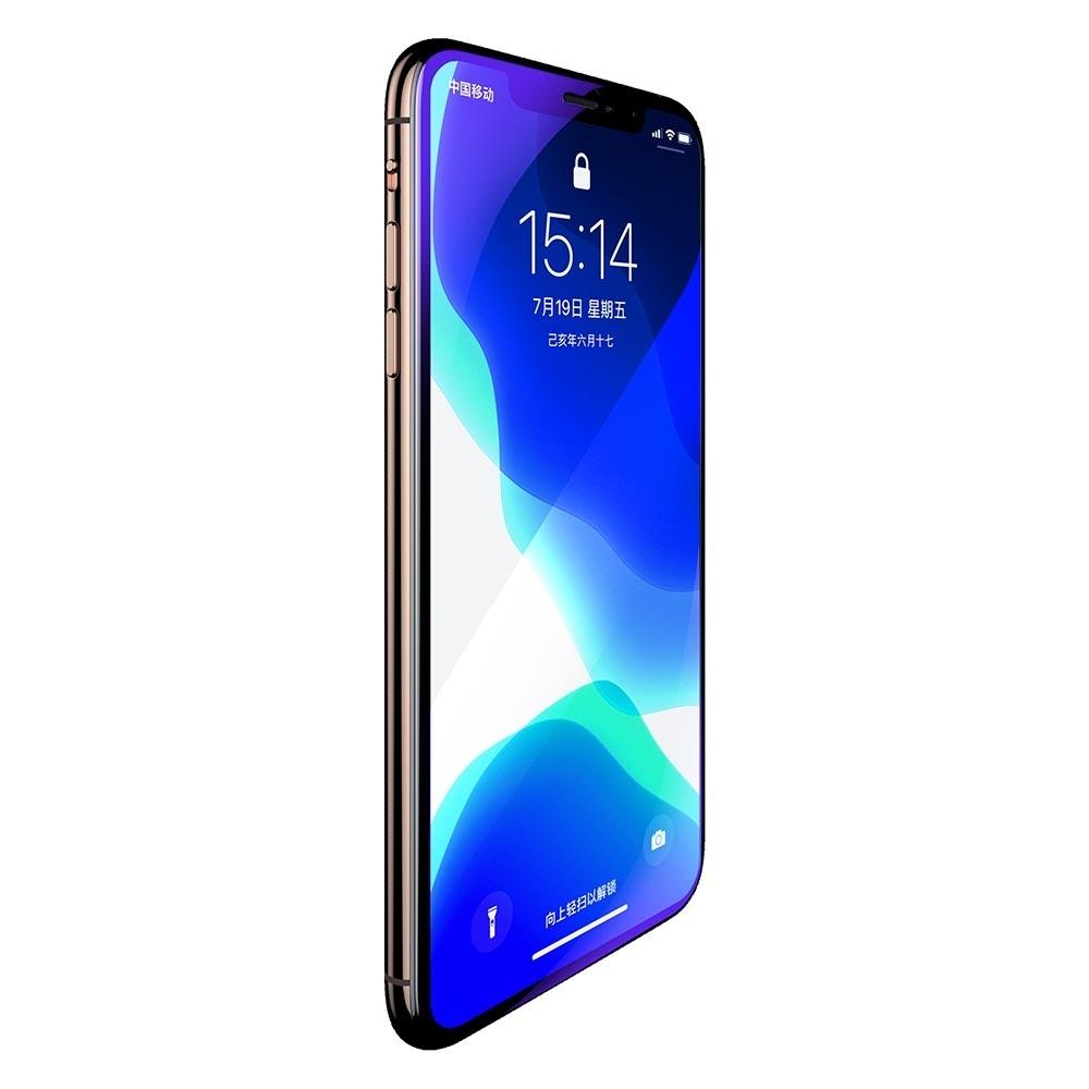 Benks iPhone11 Pro (5.8) V-Pro 抗藍光全覆蓋玻璃保護貼