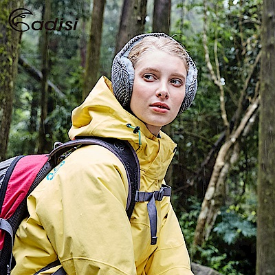 ADISI 千鳥格保暖耳罩AS16131 【米咖色】