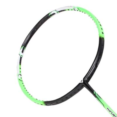 VICTOR 突擊球拍-5U-訓練 羽球拍 羽毛球 空拍 勝利 TK-330R-5U 螢光綠黑白
