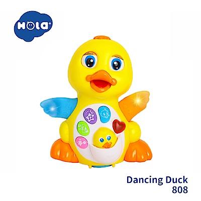 香港HOLA幼兒聲光玩具-搖擺大黃鴨 808