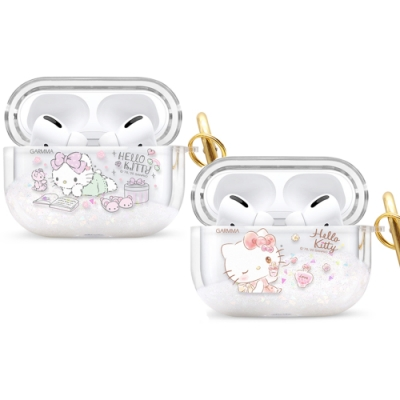 GARMMA Hello Kitty AirPods Pro 藍牙耳機流沙保護套