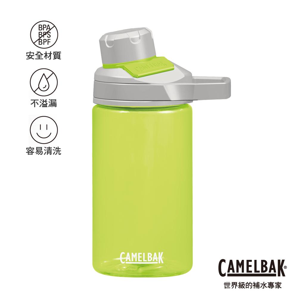 【美國 CamelBak】400ml Chute Mag戶外運動水瓶 萊姆
