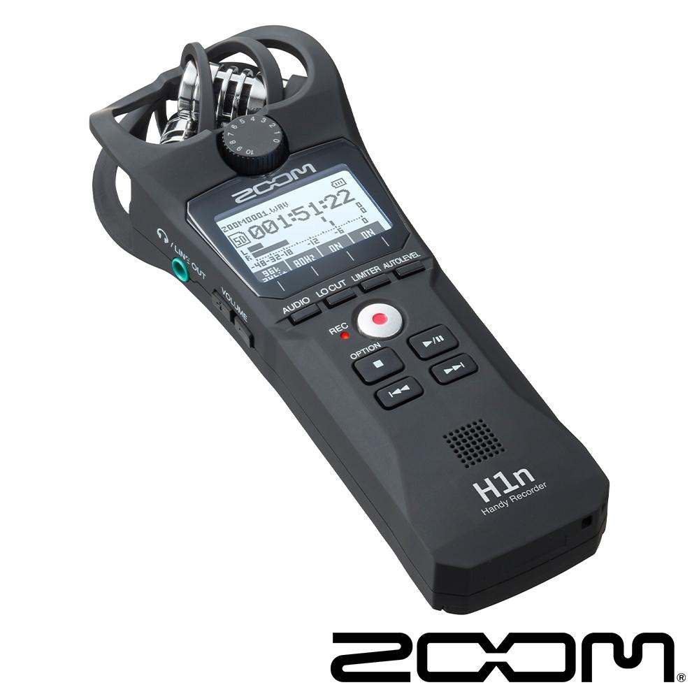 ZOOM H1n 專業手持數位錄音機(黑)-公司貨