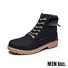 Men-Inc.「強悍」軍規耐磨工作靴 (黑色)