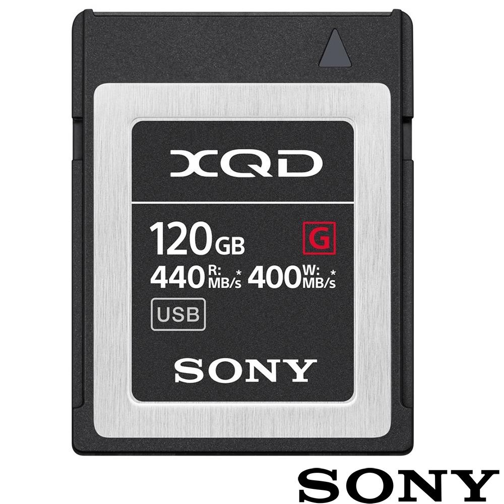 SONY QD-G120F 120G 120GB 440MB/S XQD G系列 高速記憶卡 (公司貨) 支援 4K Z6 Z7