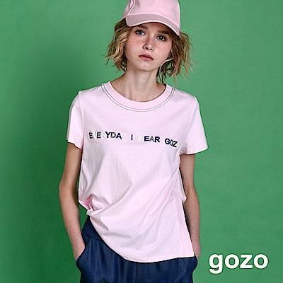 gozo 今天穿gozo圓領棉T(三色)