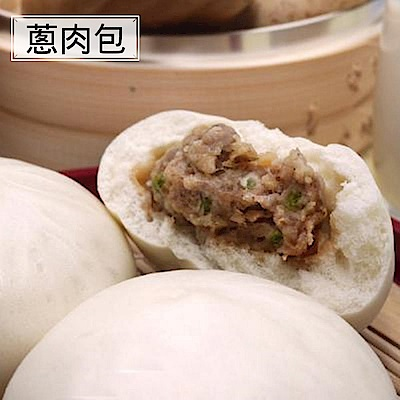 神農包子 蔥肉包(5入/包)