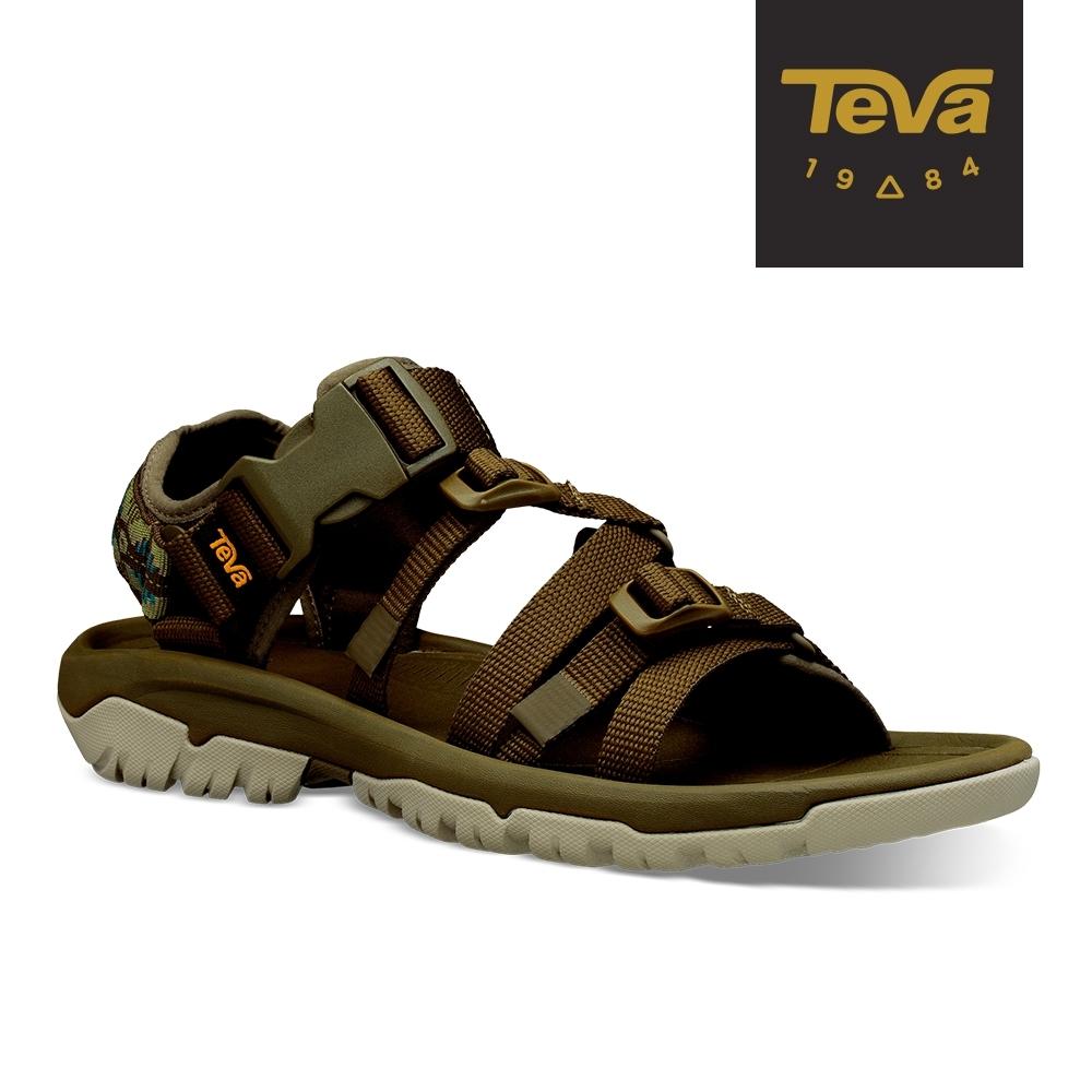 【TEVA】原廠貨 男 Hurricane XLT2 ALP 機能運動涼鞋/雨鞋/水鞋(CTC深橄欖-TV1100033DOCGR)