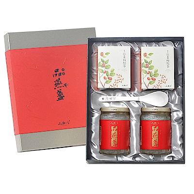 品御方  御品燕窩禮盒(品燕盞350gx2瓶+紅棗枸杞茶10入x2盒)