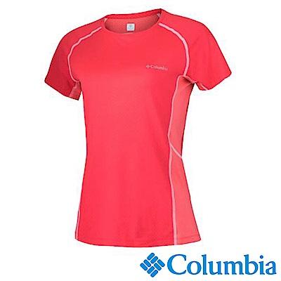 Columbia 哥倫比亞 女款-防曬30涼感快排短袖上衣UAR65800
