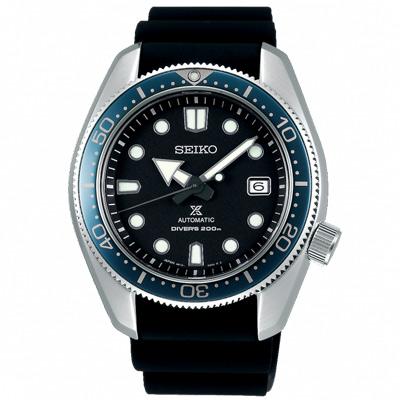 SEIKO 精工 PROSPEX 200米潛水機械手錶SPB079J1-黑/44mm