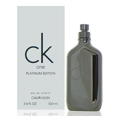 Ck One Platinum 白金未來限量版淡香水 100ml Tester 包裝