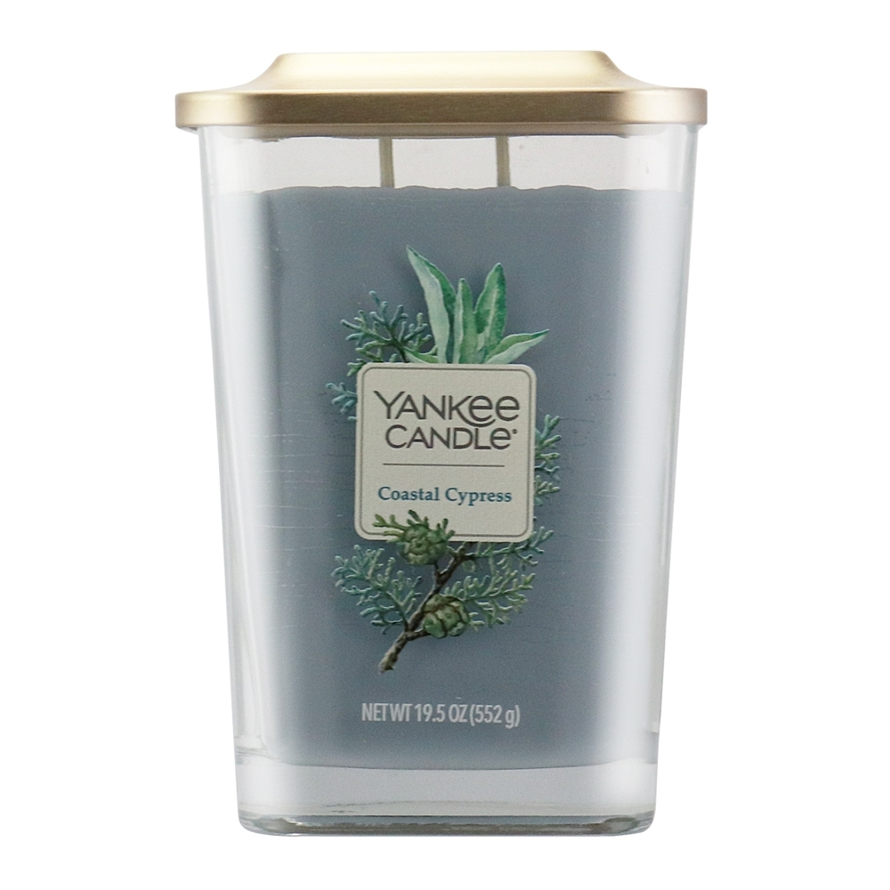 YANKEE CANDLE 香氛蠟燭-海岸柏樹552g