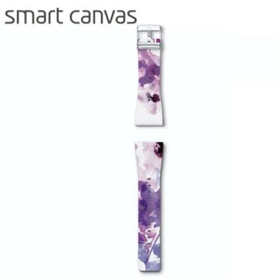 Smart Canva 花漾系列錶帶 原廠公司貨 -渲染銀蓮