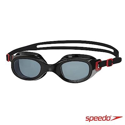 SPEEDO 成人 泳鏡 Futura Classic 紅/灰