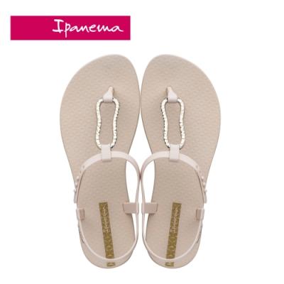 Ipanema  CLASS MOOD FEM美好氛圍T字涼鞋-米白