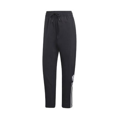 adidas 長褲 Adicolor Track Pants 女款 愛迪達 三葉草 九分褲 基本款 黑 白 GJ6569