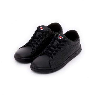 FILA 中性休閒鞋-黑 4-C908T-000