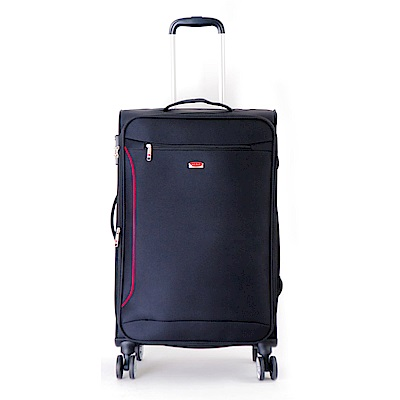 DF travel - 說走就走!休閒輕旅布面28吋行李箱-共2色
