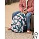 【ROXY】SHADOW SWELL PRINTED 後背包 藍綠色 product thumbnail 1