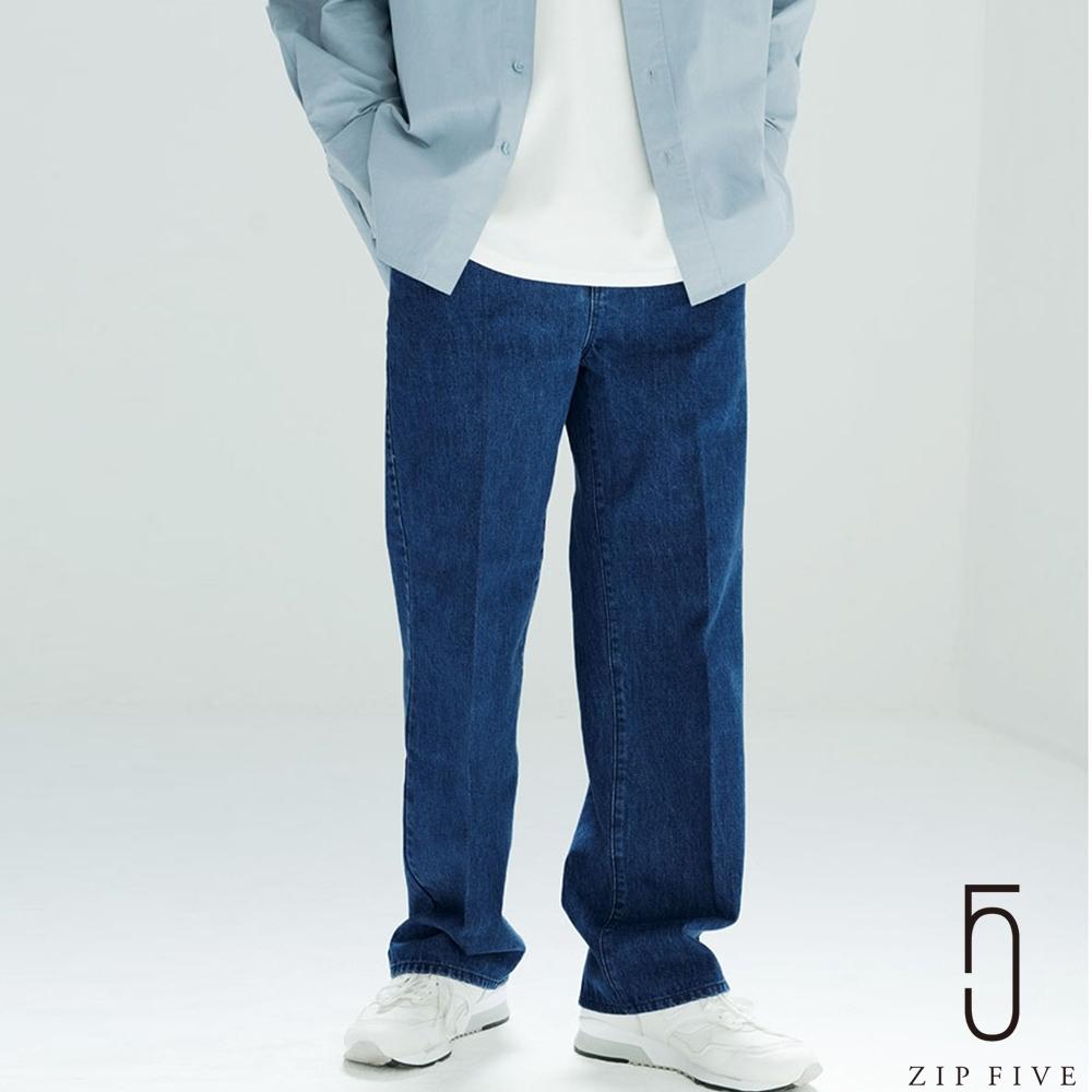 ZIP日本男裝 Nilway先染色丹寧牛仔長褲 (4色) product image 1