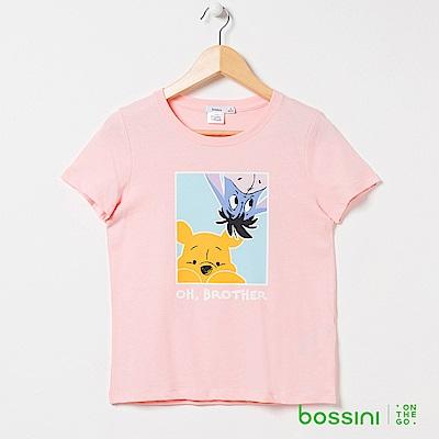 bossini女裝-小熊維尼印花短袖T恤06橘
