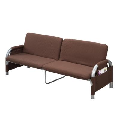 MUNA 雙人坐臥兩用沙發床(咖)(S085) 190X67X75cm