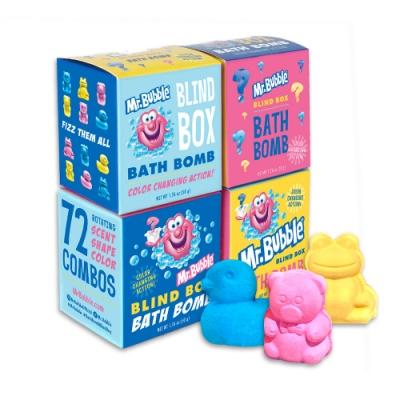 泡泡先生 Mr.Bubble 可愛動物沐浴球驚喜盒50gx1入(隨機出貨)