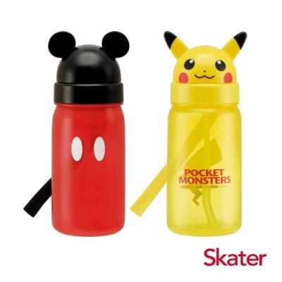 Skater造型吸管水壺(350ml) 2支