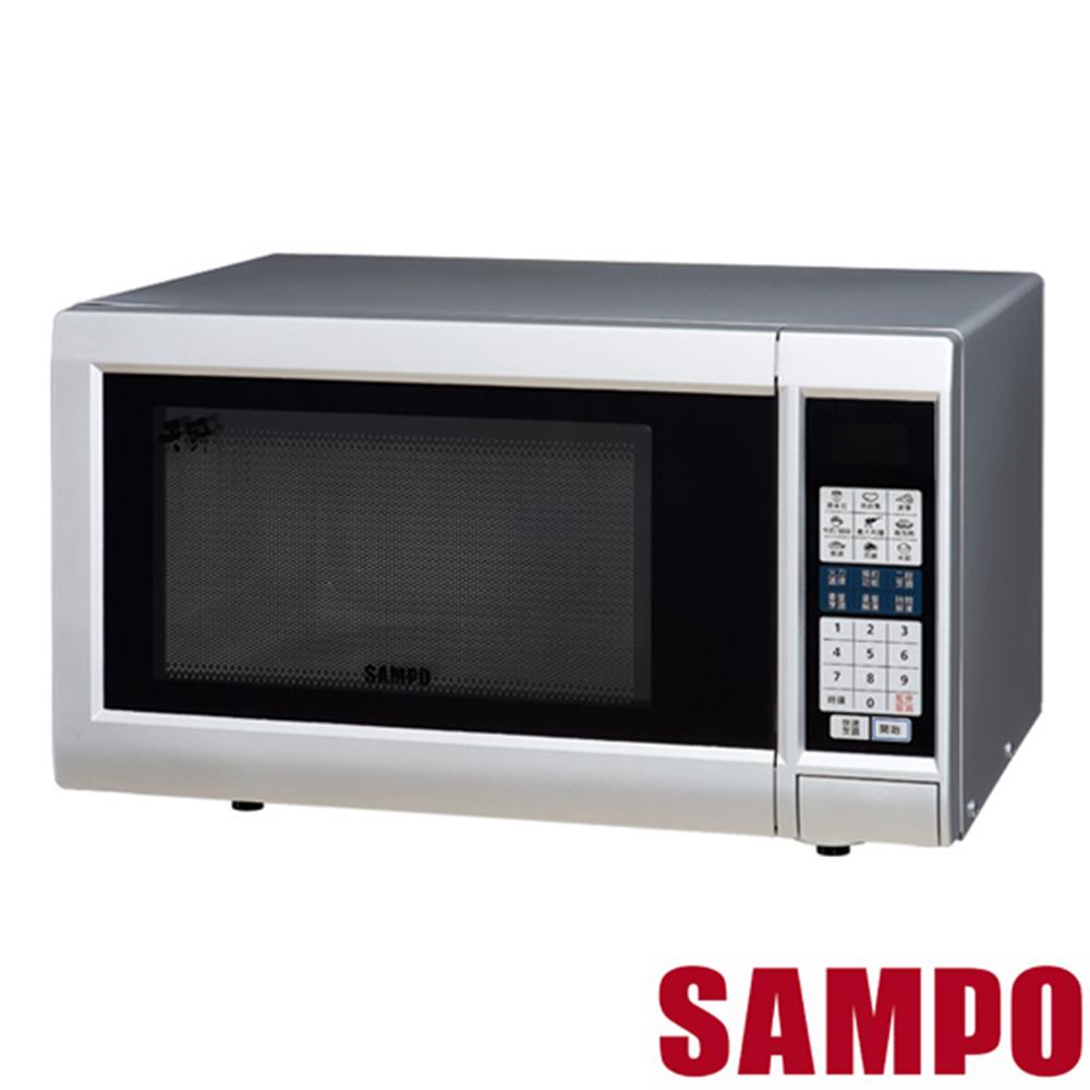 SAMPO聲寶25L微電腦觸控微波爐 RE-N525TM @ Y!購物