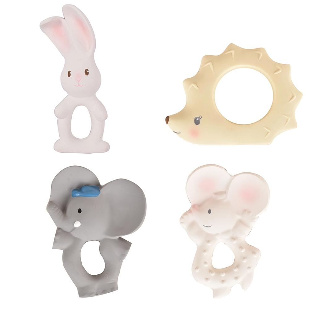 【TIKIRI 斯里蘭卡】咬咬環/固齒固齒器玩具 (任選)
