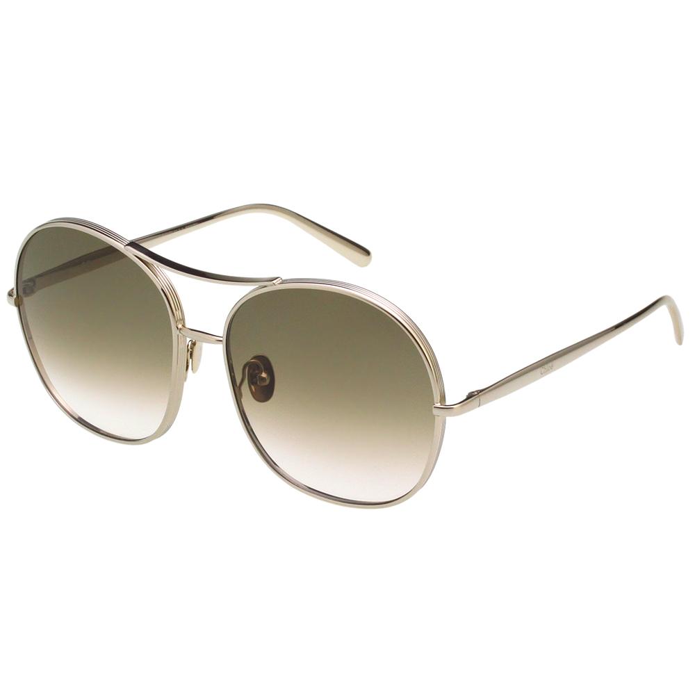 CHLOE 飛官款 太陽眼鏡 (淡金色)CE128S-750