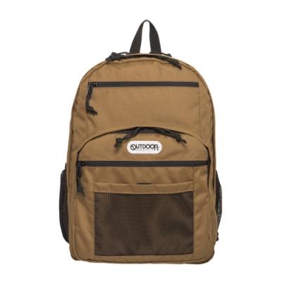 【OUTDOOR】率性學院-後背包-棕色 OD291102BE