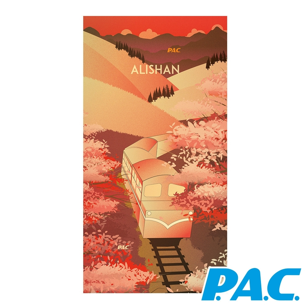 【PAC德國】夢想海洋頭巾減碳環保愛大自然/魅力台灣頭巾PAC88341740阿里山