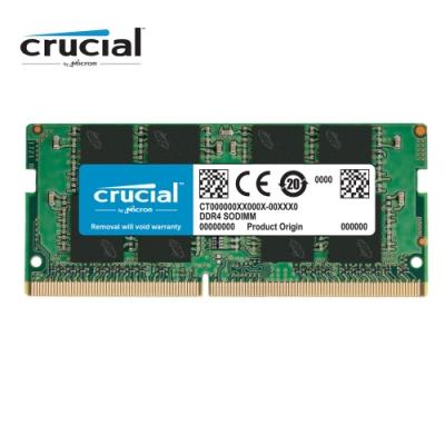 Micron Crucial NB-DDR4 2666/16G 筆記型RAM(2R*8)