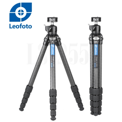 Leofoto 徠圖 碳纖維三腳架(含中軸雲台)LS255C+LH30