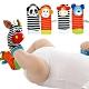 【2雙入】嬰兒襪子可愛動物造型搖鈴寶寶襪子 product thumbnail 1