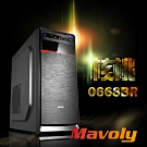 Mavoly 松聖 核桃 (黑) ATX / micro-ATX機箱 拉絲面板電腦機殼