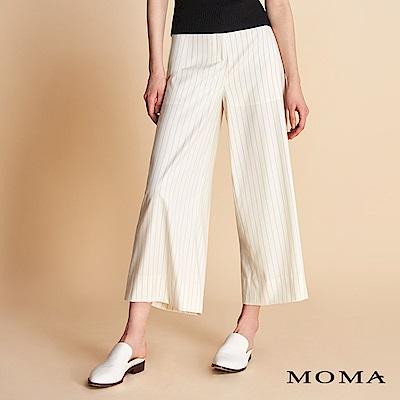 MOMA 細條紋寬褲