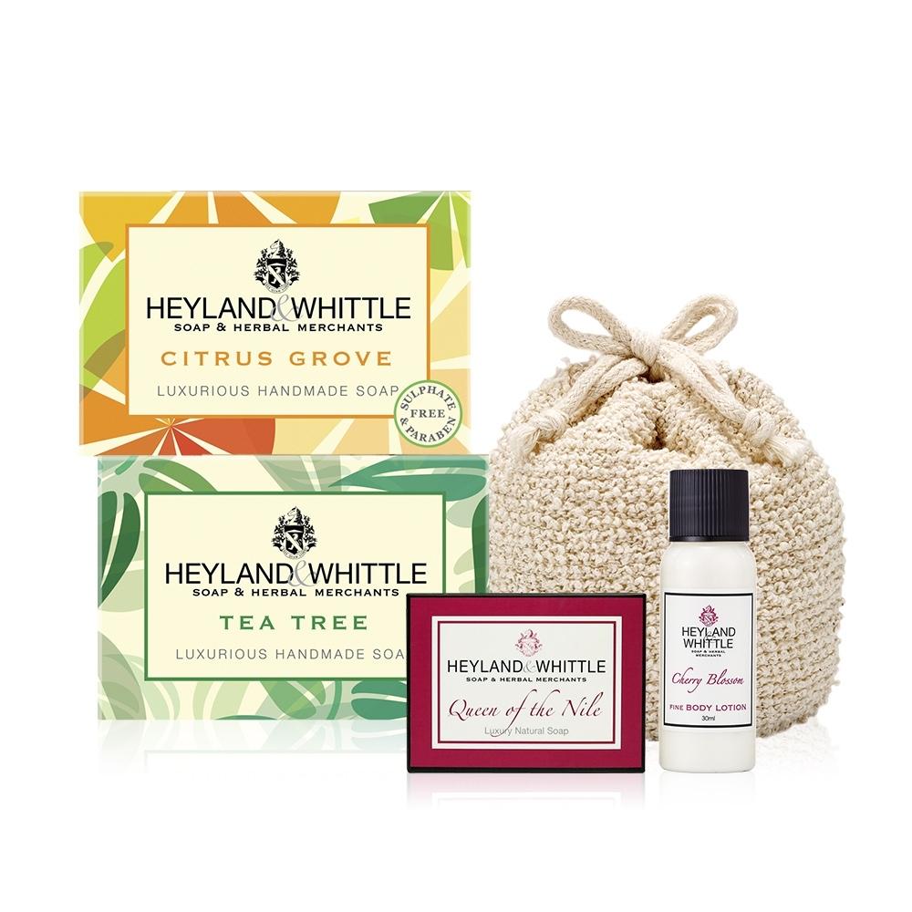 H&W英倫薇朵 香氛手工皂組