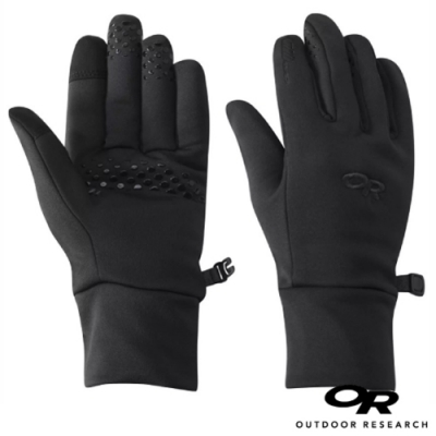 Outdoor Research 女 Vigor Heavyweight Sensor Gloves 加厚刷毛保暖手套_觸控手套_黑