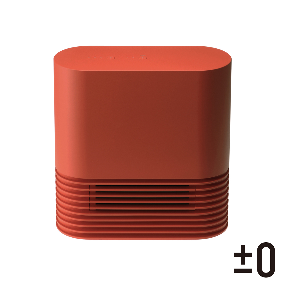 正負零plusminuszero  XHH-Y030 正負零±0 Ceramic 陶瓷電暖器 XHH-Y030 (正紅)
