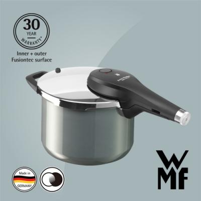 德國WMF Fusiontec 快力鍋 6.5L (鉑灰色)(快)