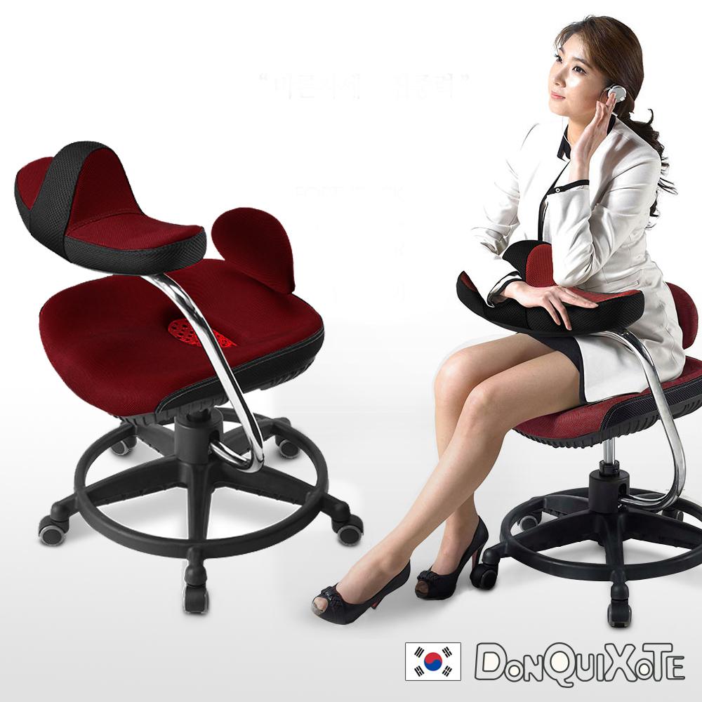 DonQuiXoTe-韓國原裝Reverse智慧工學椅-棗紅 @ Y!購物