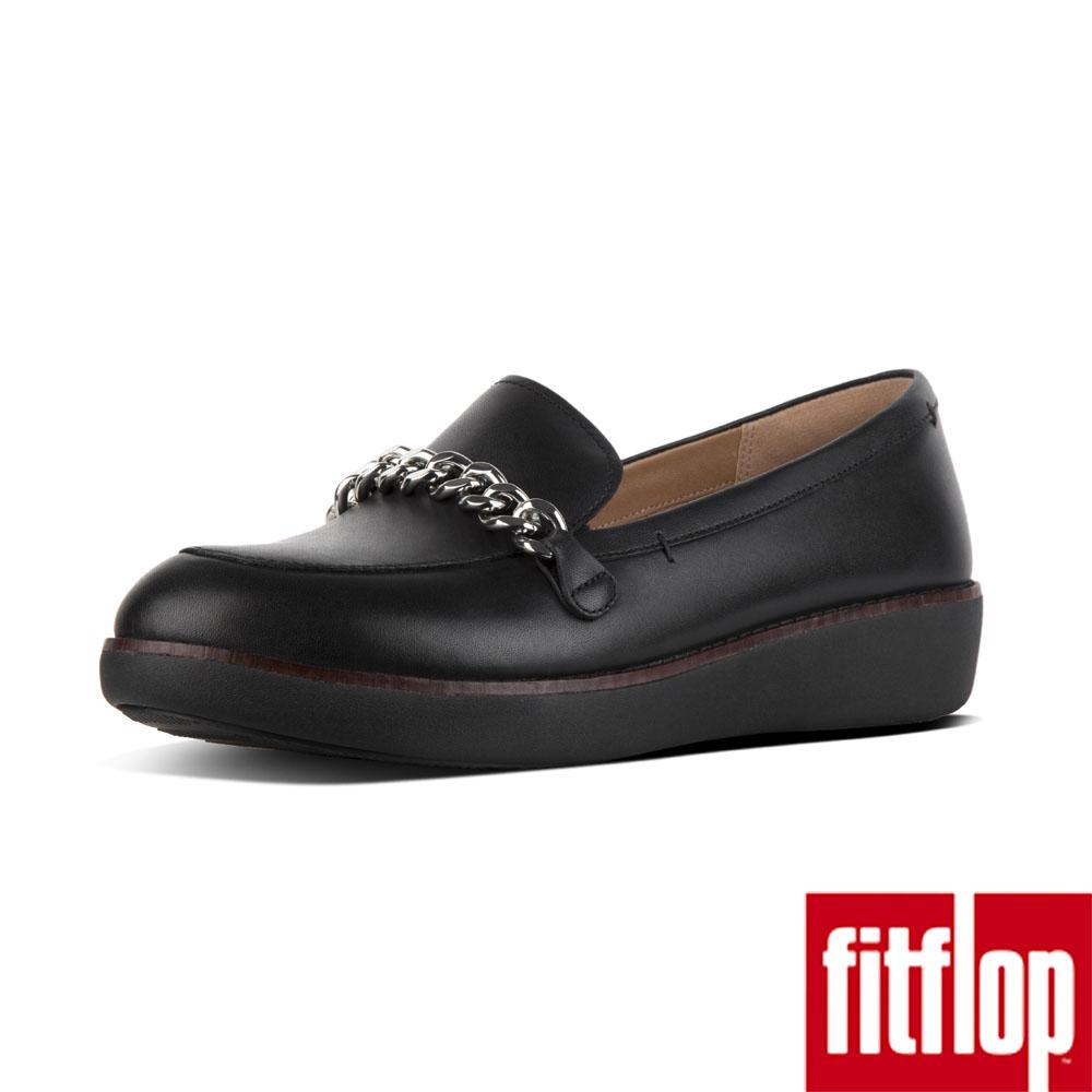FitFlop PAIGE 鍊條樂福鞋黑色
