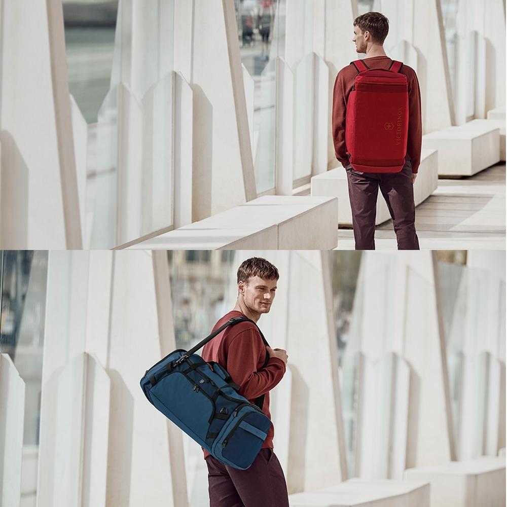 VICTORINOX 瑞士維氏 二合一雙肩包 旅行袋 行李袋 / 3色任選