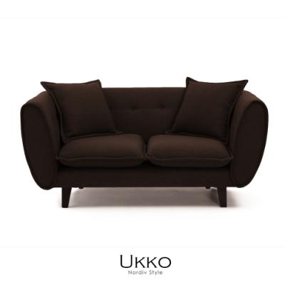 obis Ukko北歐風簡約雙人沙發(二色)