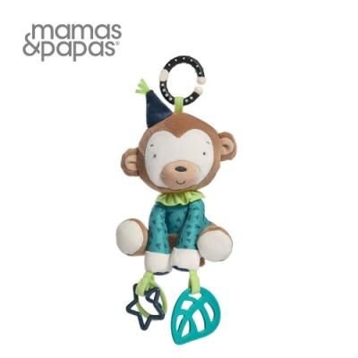 【Mamas & Papas】梅西猴把戲(搖鈴吊飾玩偶)